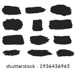 calligraphy straight smears ... | Shutterstock . vector #1936436965