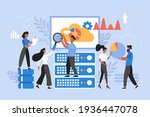 data analysis concept. modern... | Shutterstock .eps vector #1936447078