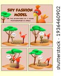 3d Rendering Comic About The...