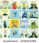 mental health illustration... | Shutterstock .eps vector #1936552288