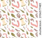 seamless pattern with hand...   Shutterstock .eps vector #1936577485