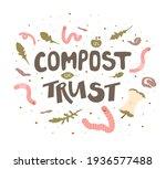in compost we trust   hand...   Shutterstock .eps vector #1936577488
