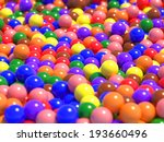 A Large Number Of Colorful...