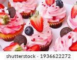 Cake In A Box. Strawberry Cake...