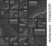 grey contours vector topography....   Shutterstock .eps vector #1936642105