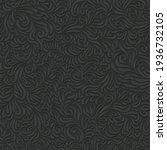 seamless abstract dark floral...   Shutterstock .eps vector #1936732105