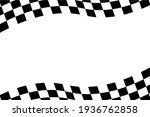 checkered flag background... | Shutterstock .eps vector #1936762858