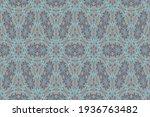 a kaleidoscope pattern formed... | Shutterstock . vector #1936763482