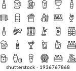 food line icon set   drink ... | Shutterstock .eps vector #1936767868