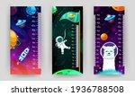 kids space height chart. cosmic ...   Shutterstock .eps vector #1936788508