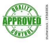 quality control approved grunge ... | Shutterstock .eps vector #193683836