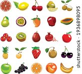 set of multicolor different... | Shutterstock .eps vector #1936898095