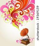 music box | Shutterstock .eps vector #19369159
