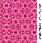 watercolor pink geometric...   Shutterstock . vector #1936937905