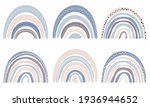set of cute rainbows in...   Shutterstock .eps vector #1936944652