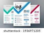 corporate flyer design template ... | Shutterstock .eps vector #1936971205