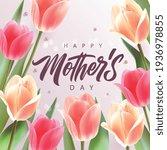 happy mother's day handwritten...   Shutterstock .eps vector #1936978855