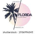 Florida  palm beach t-shirt artwork design for apparels , fashion others
