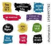 motivation badges. grunge... | Shutterstock . vector #1936997782