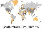 world map color vector modern....   Shutterstock .eps vector #1937004742