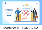 two angry men are standing near ... | Shutterstock .eps vector #1937017465