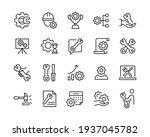 Repair Icons   Vector Line...