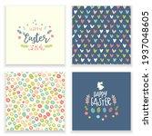 cute easter design  creative...   Shutterstock .eps vector #1937048605