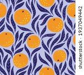 hand drawn seamless pattern... | Shutterstock . vector #1937049442