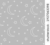 seamless endless pattern. night ... | Shutterstock .eps vector #1937063398
