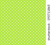 Seamless Green Polka Dot...