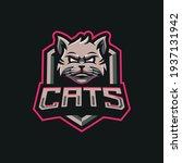 cats mascot logo design... | Shutterstock .eps vector #1937131942