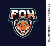 fox mascot logo design... | Shutterstock .eps vector #1937148178