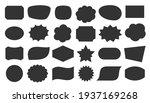geometric shapes black... | Shutterstock .eps vector #1937169268