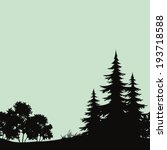 seamless background  landscape  ... | Shutterstock .eps vector #193718588