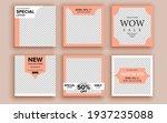 set of sale banner template... | Shutterstock .eps vector #1937235088