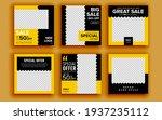 set of sale banner template...   Shutterstock .eps vector #1937235112