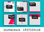set of sale banner template...   Shutterstock .eps vector #1937235118