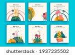 set of sale banner template... | Shutterstock .eps vector #1937235502