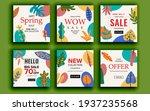 set of sale banner template...   Shutterstock .eps vector #1937235568