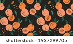 vector seamless pattern with... | Shutterstock .eps vector #1937299705