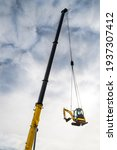 Hydraulic Crane Telescopic Boom ...