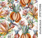 folk seamless pattern  | Shutterstock . vector #193733486