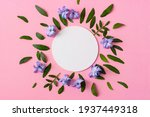 hyacinth flowers and green...   Shutterstock . vector #1937449318