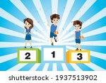 class champion gets an award...   Shutterstock .eps vector #1937513902