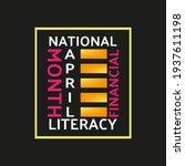 national financial literacy... | Shutterstock .eps vector #1937611198
