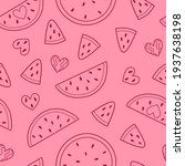 summer seamless pattern with...   Shutterstock .eps vector #1937638198