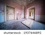 Interior Of An Old Abandoned...