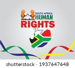 south africa human rights day... | Shutterstock .eps vector #1937647648