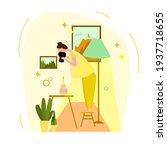 Vector Flat Illustration Of A...