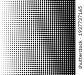 black halftone background with...   Shutterstock .eps vector #1937737165